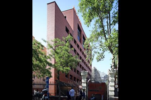 Bankinter headquarters, Madrid, 1976, by Rafael Moneo